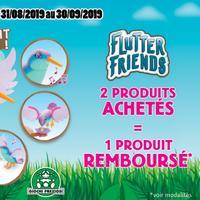 Offre de Remboursement Giochi Preziosi : 2ème Produit Flutter Friends 100% Remboursé