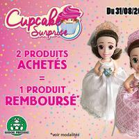 Offre de Remboursement Giochi Preziosi : 2ème Produit Cupcake Surprise 100% Remboursé