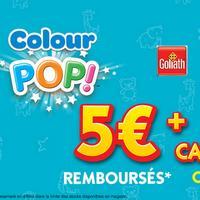 Offre de Remboursement Goliath : 5€ Remboursés sur Tapis Crayola Colour Pop