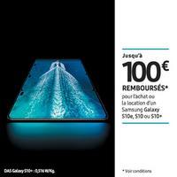 Offre de Remboursement Samsung : Jusqu'à 100€ Remboursés sur Smartphone Galaxy S10e, S10 ou S10+