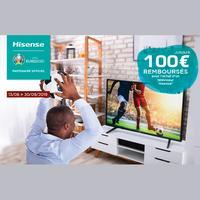 Offre de Remboursement Hisense : Jusqu'à 100€ Remboursés sur Téléviseur