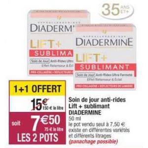 Crème Lift+ Diadermine chez Cora (10/09 – 21/09)