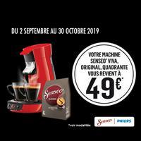 Offre de Remboursement Philips : Votre Machine Senseo à 49€