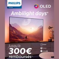 Offre de Remboursement Philips : Jusqu'à 300€ Remboursés sur TV OLED Ambilight