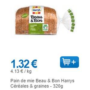 Pain de Mie Beau & Bon Harrys partout (01/09 – 30/09)