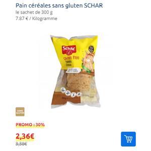 Pain aux Céréales sans Gluten Schär chez Carrefour Market (11/09 – 15/09)