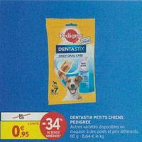 Snacks Dentastix Pedigree chez Intermarché (17/09 – 22/09)