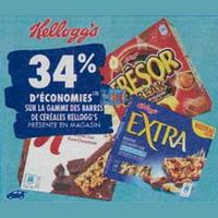 Barres de Céréales Kellogg's Extra chez Carrefour (23/09 – 30/09)