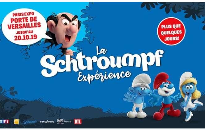 Schtroumpf Experience Paris : billets à prix réduits