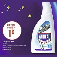 Spray Antikal chez Géant Casino (17/09 – 29/09)