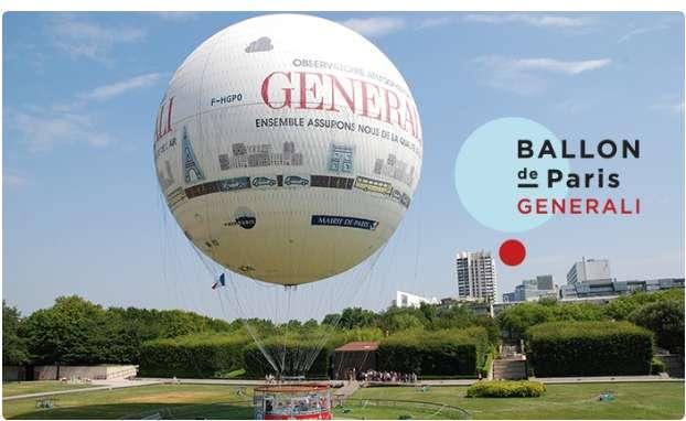Réduction sur les billets du Ballon Generali à Paris
