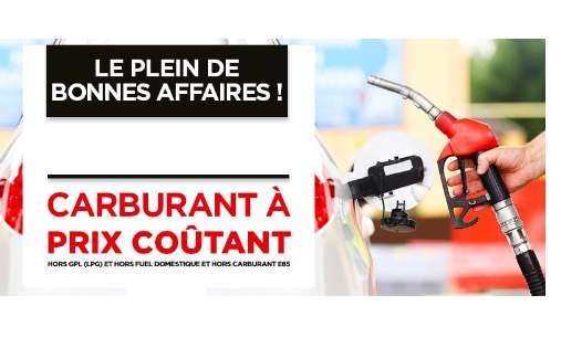 Géant et Casino : 40€ Remboursés en 2 Bons & Carburants à Prix Coûtant du 14 au 17 mai