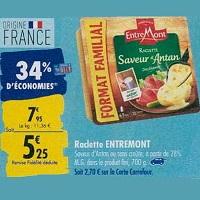 Raclette EntreMont chez Carrefour (23/09 – 30/09)