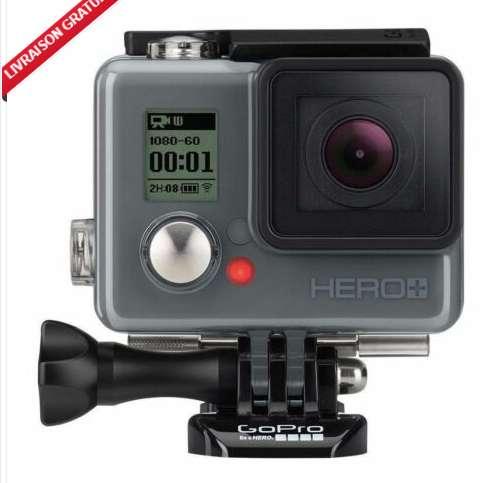 100€ la caméra Go Pro Hero+ Lcd reconditionnée