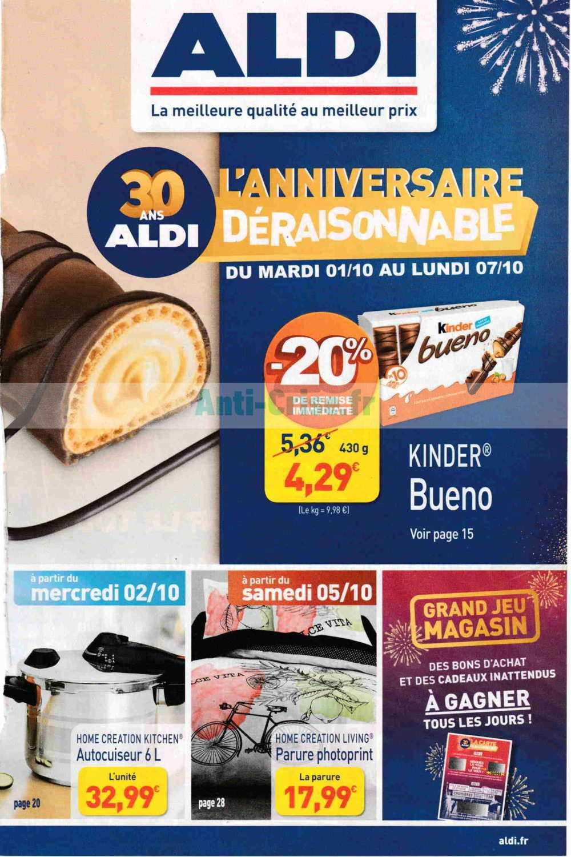 Catalogue Aldi Du 01 Au 07 Octobre 2019 Catalogues Promos Bons Plans Economisez Anti Crise Fr