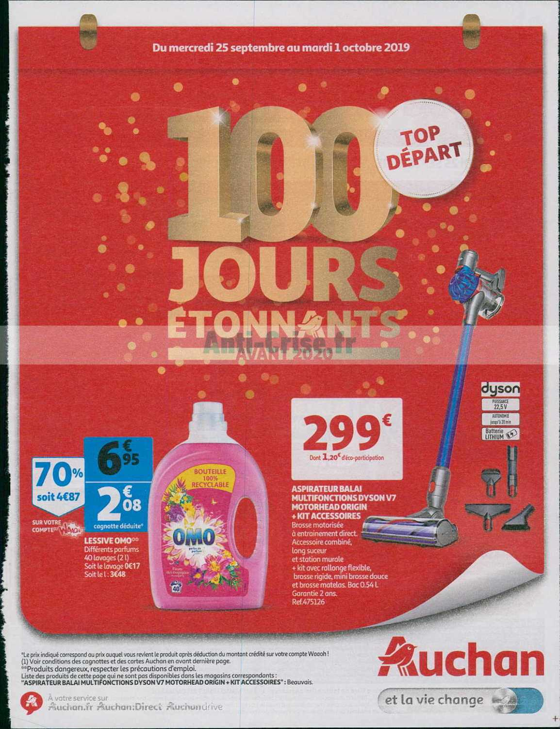 Catalogue Auchan du 25 septembre au 01 octobre 2019