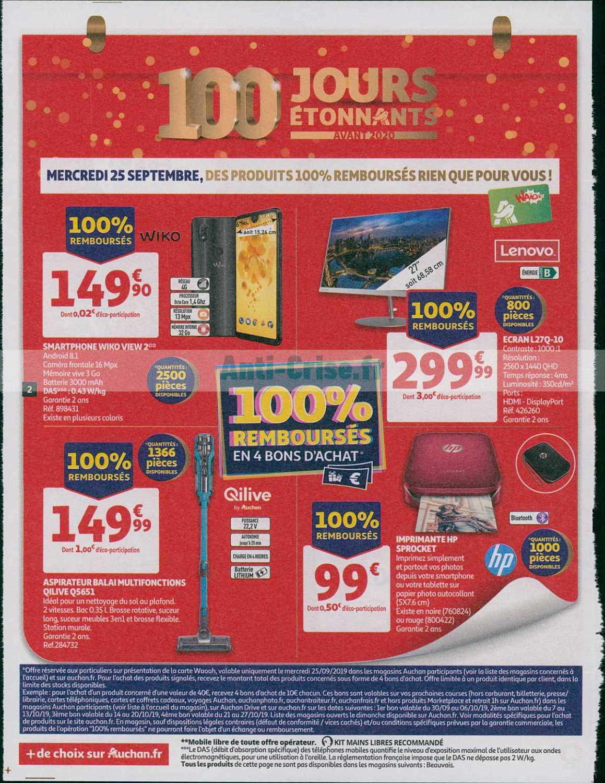 Catalogue Auchan Du 25 Septembre Au 01 Octobre 2019