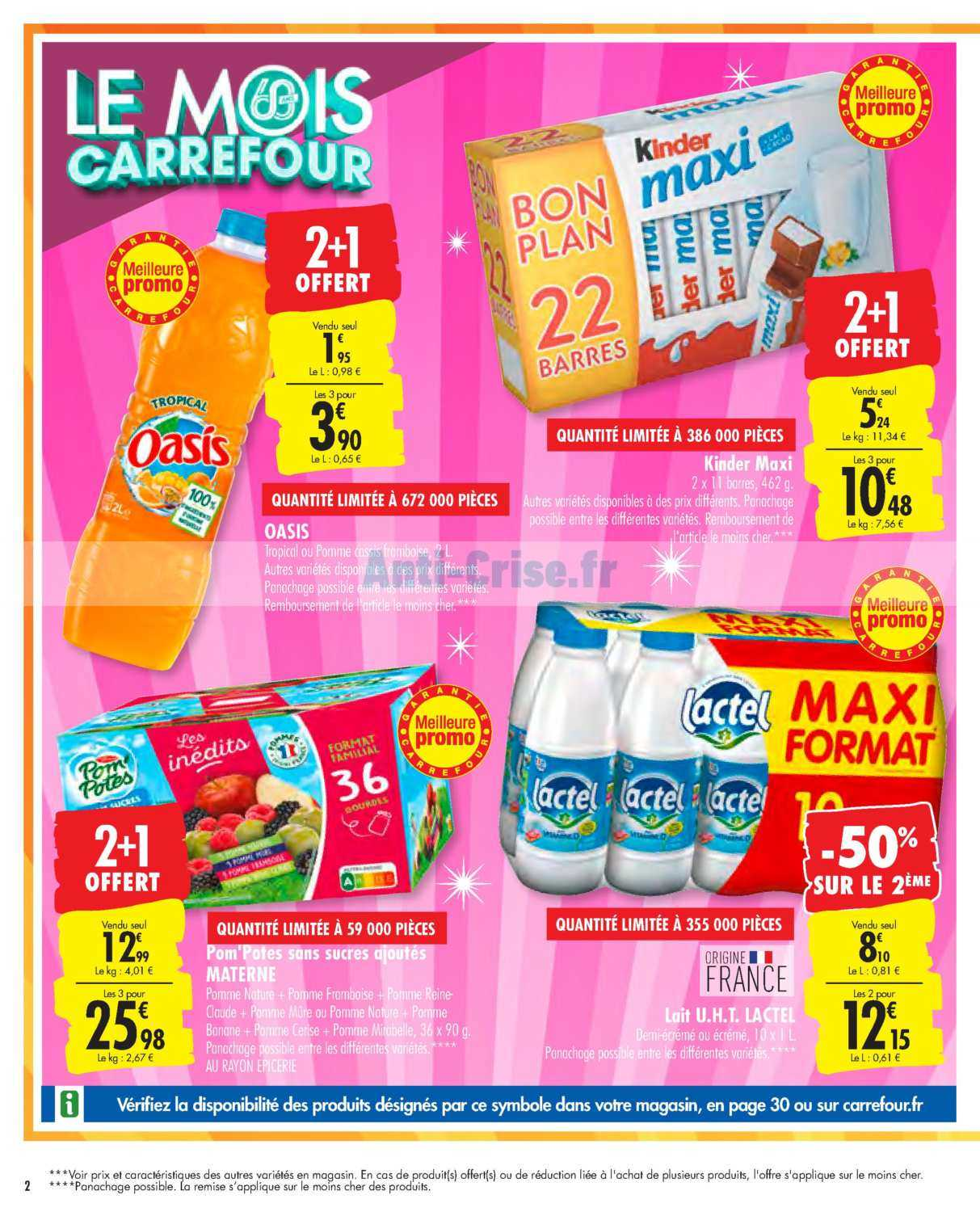 Catalogue Carrefour du 01 au 07 octobre 2019 (Le Mois 2