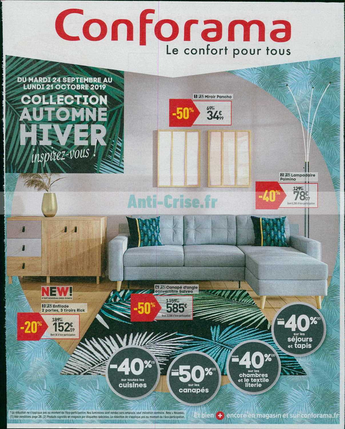 Catalogue Conforama du 24 septembre au 21 octobre 2019 ...