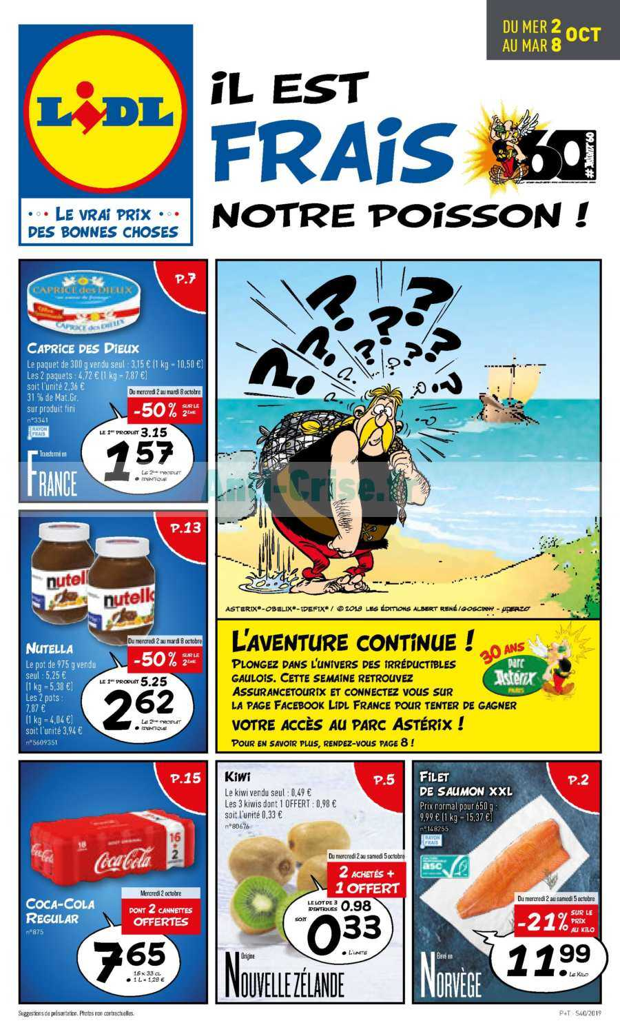 Catalogue Lidl du 02 au 08 octobre 2019 Catalogues Promos