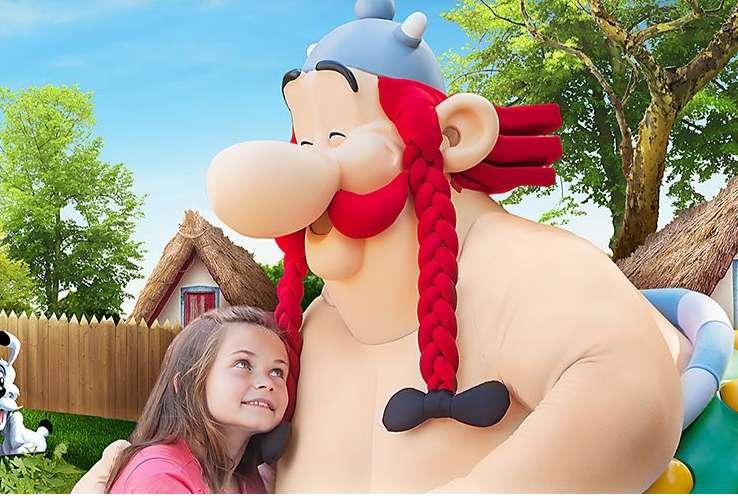30% de réduction sur les Séjours au Parc Asterix
