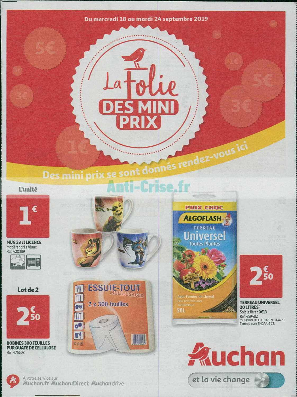Catalogue Auchan du 18 au 24 septembre 2019