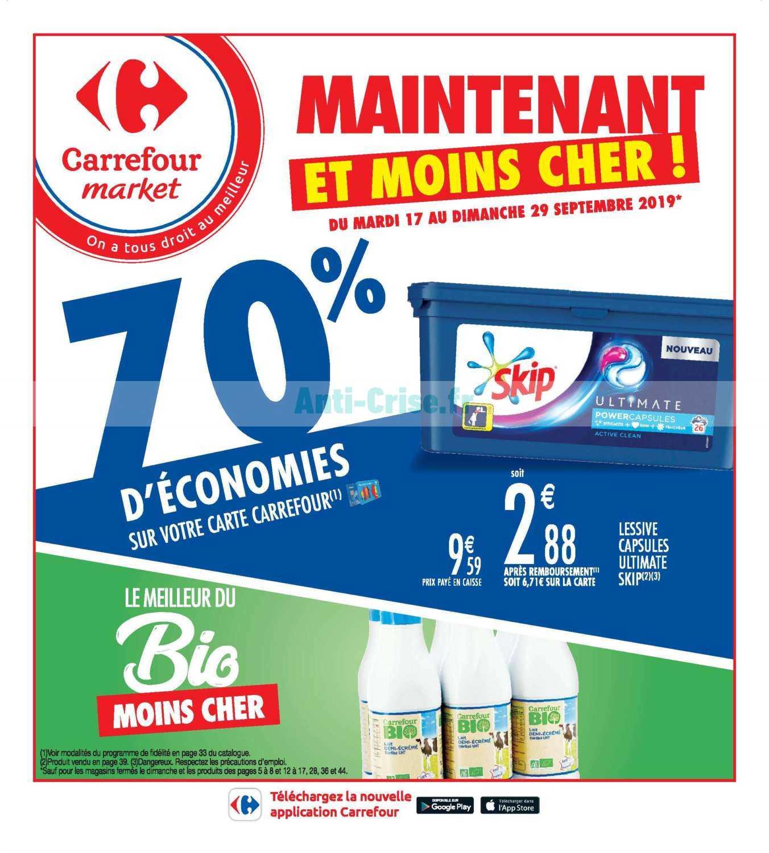 Catalogue Carrefour Market du 17 au 29 septembre 2019