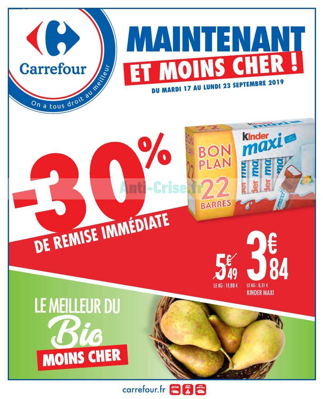 Catalogue Carrefour du 17 au 23 septembre 2019