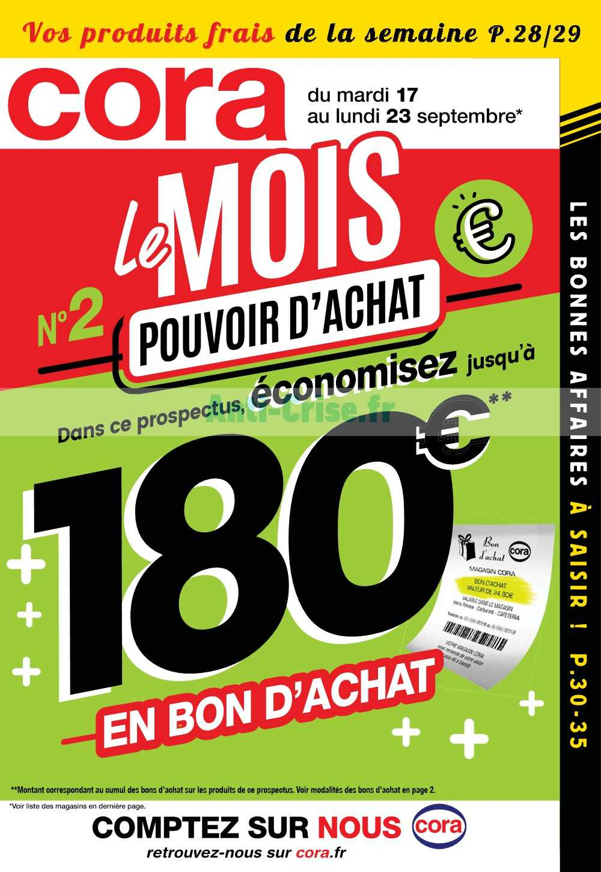 Catalogue Cora du 17 au 23 septembre 2019 (Alsace)