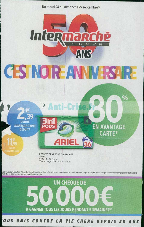 Catalogue Intermarche Du 24 Au 29 Septembre 2019 Version Super Catalogues Promos Bons Plans Economisez Anti Crise Fr