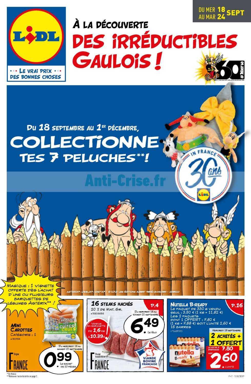 Catalogue Lidl du 18 au 24 septembre 2019