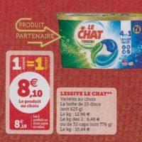 Lessive en Discs Le Chat chez Magasins U (15/10 – 19/10)