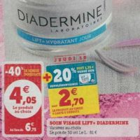 Crème Lift+ Diadermine chez Magasins U (08/10 – 19/10)