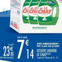 Lessive Liquide Le Chat chez Carrefour Market (08/10 – 20/10)