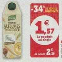 Soupe Knorr chez Magasins U (08/10 – 19/10)