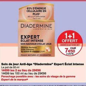 Crème Expert Diadermine chez Monoprix (06/11 – 17/11)