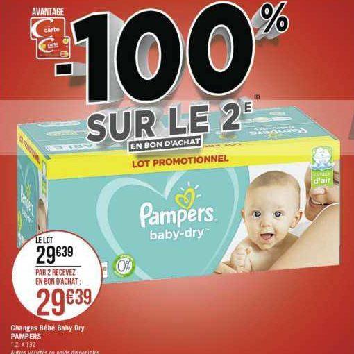 Couches Harmonie Pampers Chez Geant Casino 04 11 17 11 Catalogues Promos Bons Plans Economisez Anti Crise Fr