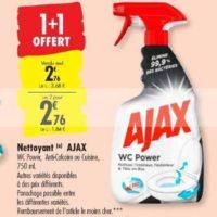 Spray Ménager Ajax chez Carrefour (15/10 – 21/10)