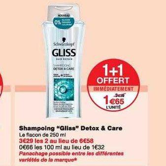 Shampoing Gliss chez Monoprix (06/11 – 17/11)