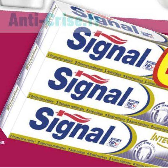 Dentifrice Signal Integral 8 chez Carrefour (15/10 – 28/10)