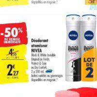 Déodorant Nivea chez Carrefour (15/10 – 28/10)