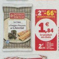 Crêpes Fourrées Paysan Breton chez Magasins U (08/10 – 19/10)