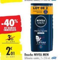 Gel Douche Nivea chez Carrefour (15/10 – 28/10)