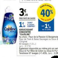 Assouplissant Cajoline chez Leclerc (22/10 – 02/11)