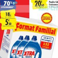 Lessive Liquide X-tra chez Carrefour (15/10 – 21/10)