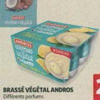 Dessert Végétal Andros chez Auchan (16/10 – 22/10)