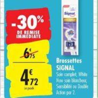 Brossettes Electriques Signal chez Carrefour (22/10 – 28/10)