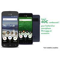 Offre de Remboursement Doro : Jusqu'à 40€ Remboursés sur Téléphone 8035, 8035 Bundle ou 8040 + 1 Accessoire