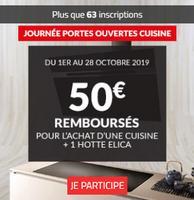 Offre de Remboursement Elica / But : 50€ Remboursés sur Cuisine + Hotte