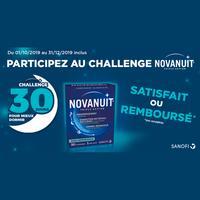 Offre de Remboursement Sanofi : Novanuit Triple Action Satisfait ou 100% Remboursé